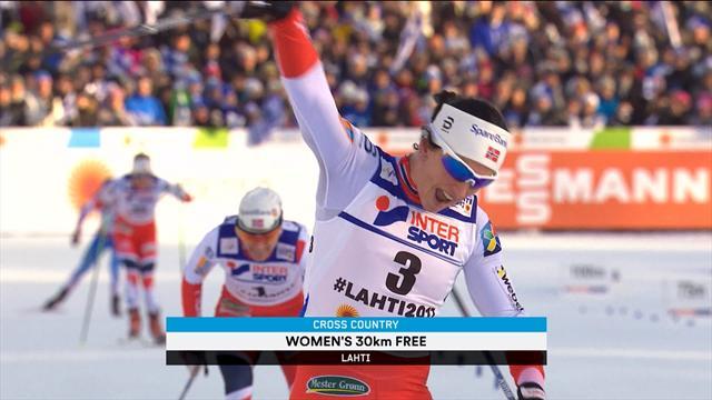 Bjorgen heads up Norway domination in Lahti