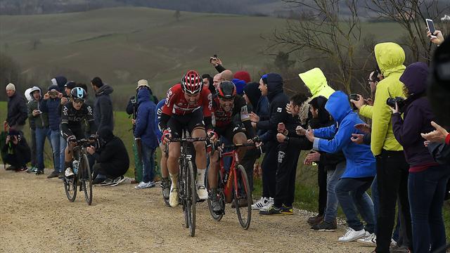 Três ciclistas portugueses competem na 12.ª edição da Strade Bianche