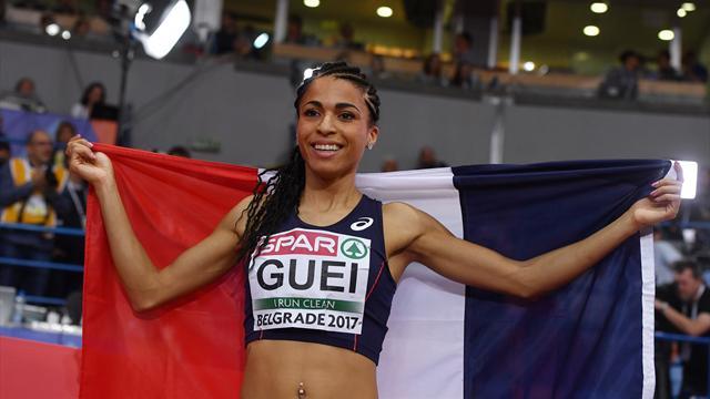 Gueï, nouvelle reine européenne du 400m