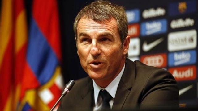 Robert Fernández, director deportivo del Barça, da la primera pista del sustituto de Luis Enrique