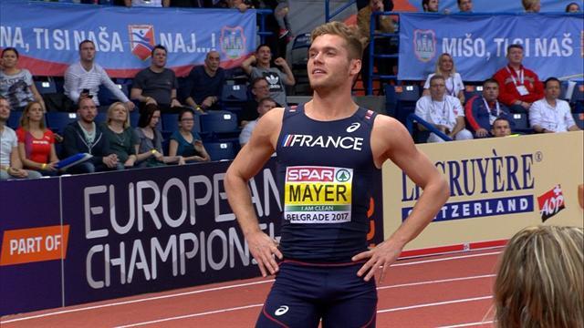 Le résumé de la première journée de Mayer, en tête de l'heptathlon