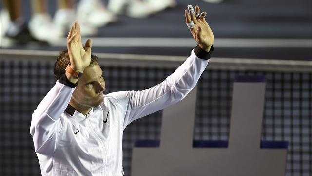 """Nadal a perdu, et alors ? Il va """"boire quelques téquilas"""" pour fêter son niveau de jeu"""