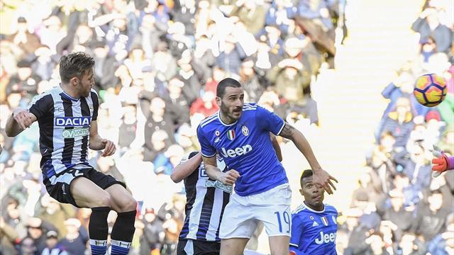 Juventus'un serisini Udinese bitirdi
