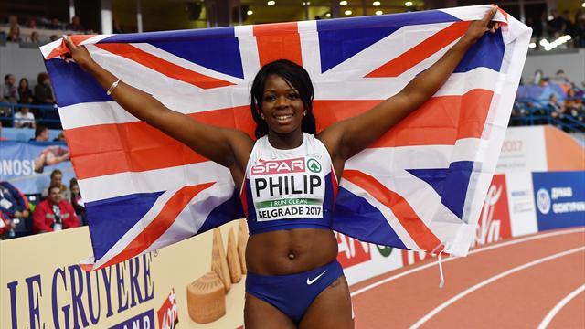 Asha Philip sacrée sur 60m