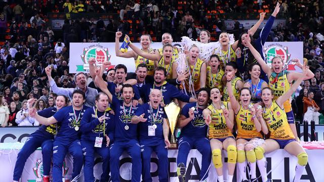 Conegliano vince la Coppa Italia! Primo trionfo per le Pantere, Modena soccombe 3-0
