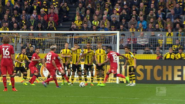 Top 5 goals of the week: The best of the Bundesligs
