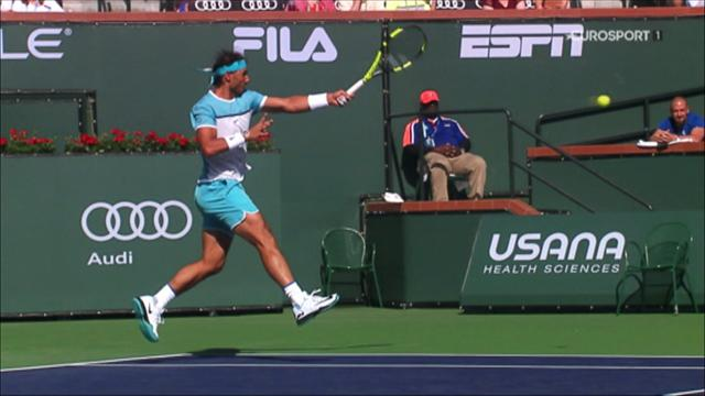 ROLEX MINUTE: Federer and Nadal headline at Indian Wells