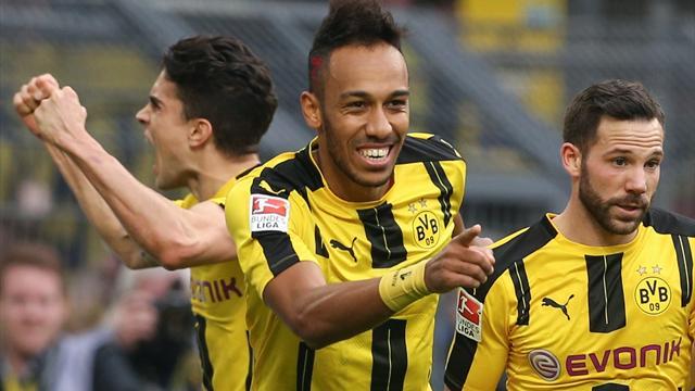 Le patron de Dortmund espère qu'Aubameyang va rester