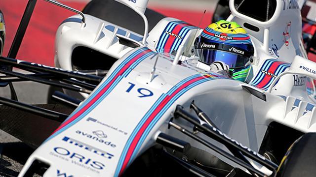 Essais de Barcelone : Massa domine la première journée