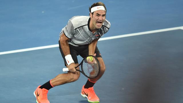 Федерер заработал за 2017 год больше очков, чем Маррей, Джокович и Надаль вместе взятые