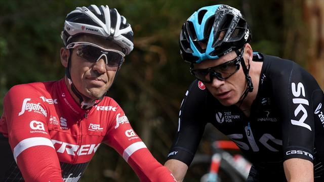 """Contador manda ánimos a Froome y apunta: """"En su cabeza tendrá recuperarse y volver lo antes posible"""""""