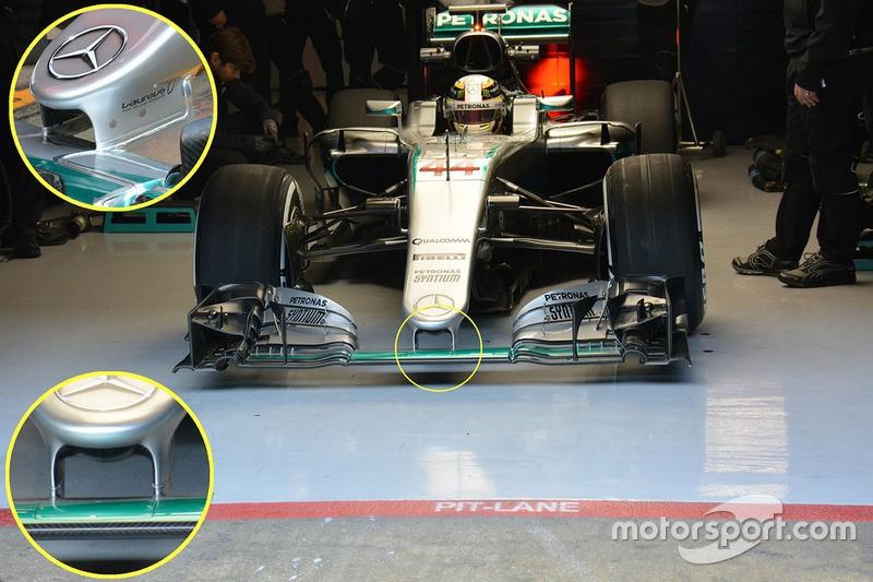 Носовой обтекатель Mercedes