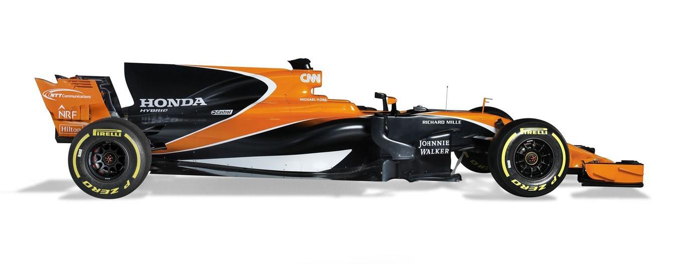 Болид McLaren 2017