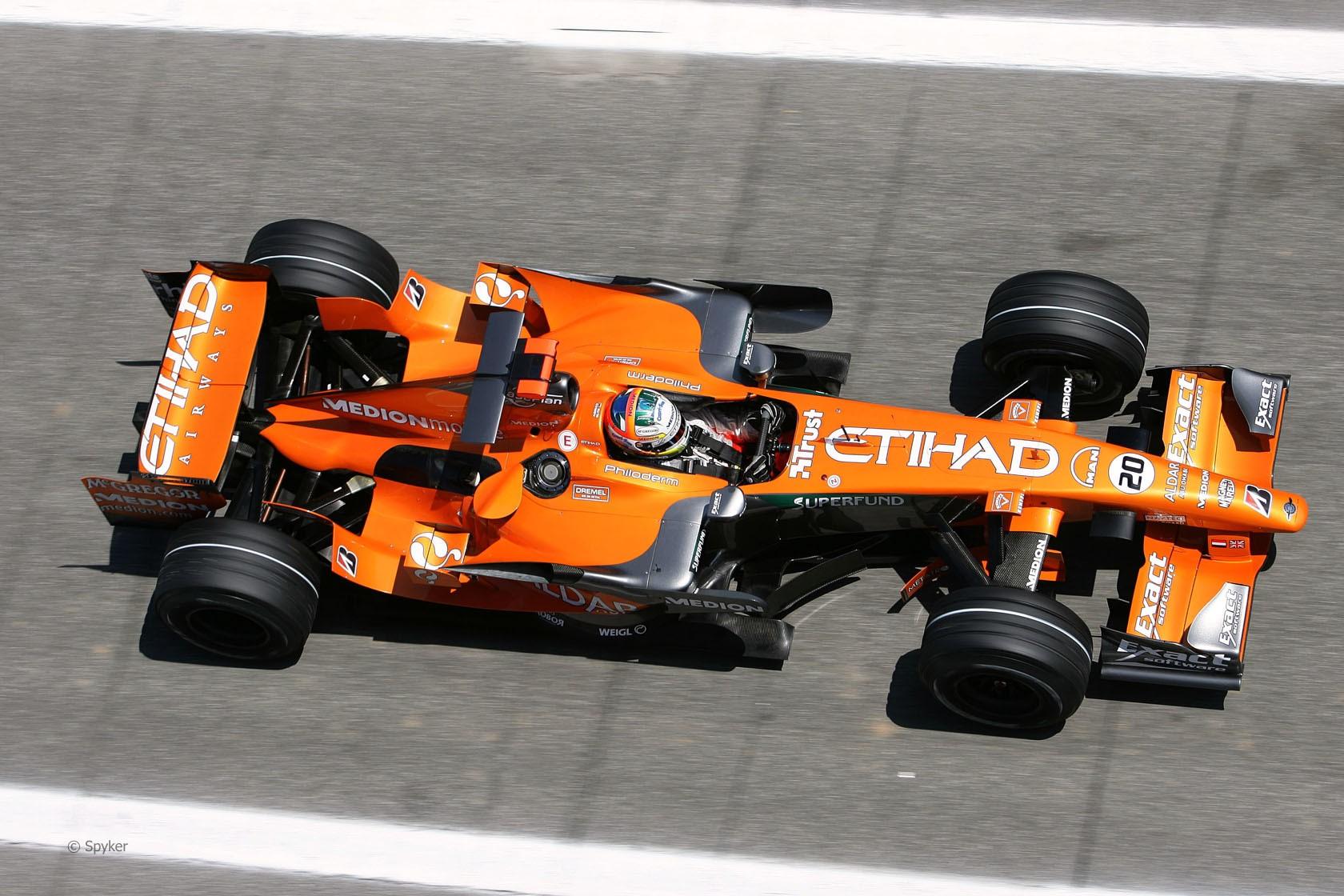 Болид Spyker F1