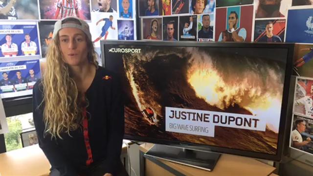 La surfeuse Justine Dupont a répondu à vos questions
