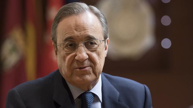 Перес останется президентом «Реала» до 2021 года