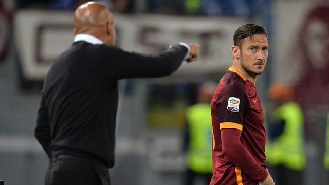 Le mea culpa de Spalletti : ''J'ai peut-être commis des erreurs avec Totti''
