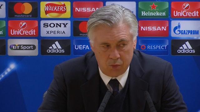 Pressekonferanse Wenger og Ancelotti
