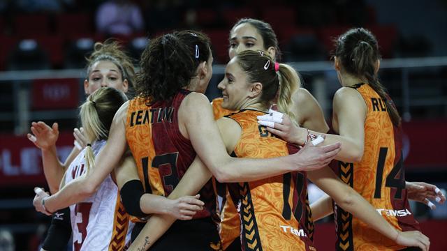 Galatasaray CEV Cup'ta yarı finalde