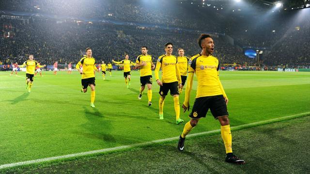 Un Aubameyang en feu envoie Dortmund en quarts