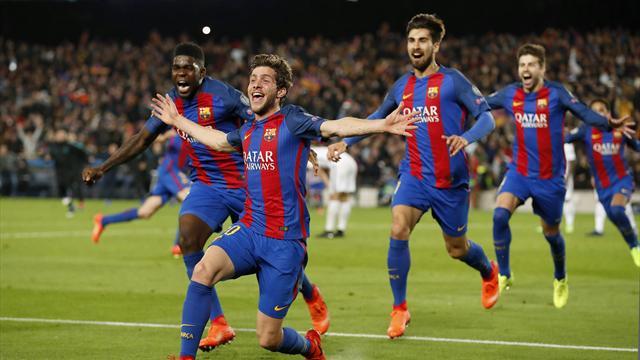 Liga - FC Barcelone : Sergi Roberto jusqu'en 2022