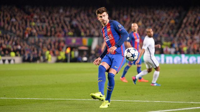 Piqué pas rancunier envers Ramos après Barça-PSG