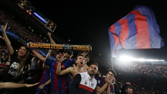 """""""Ici, c'est Barcelone"""" : mercredi, le Camp Nou s'est embrasé comme jamais"""