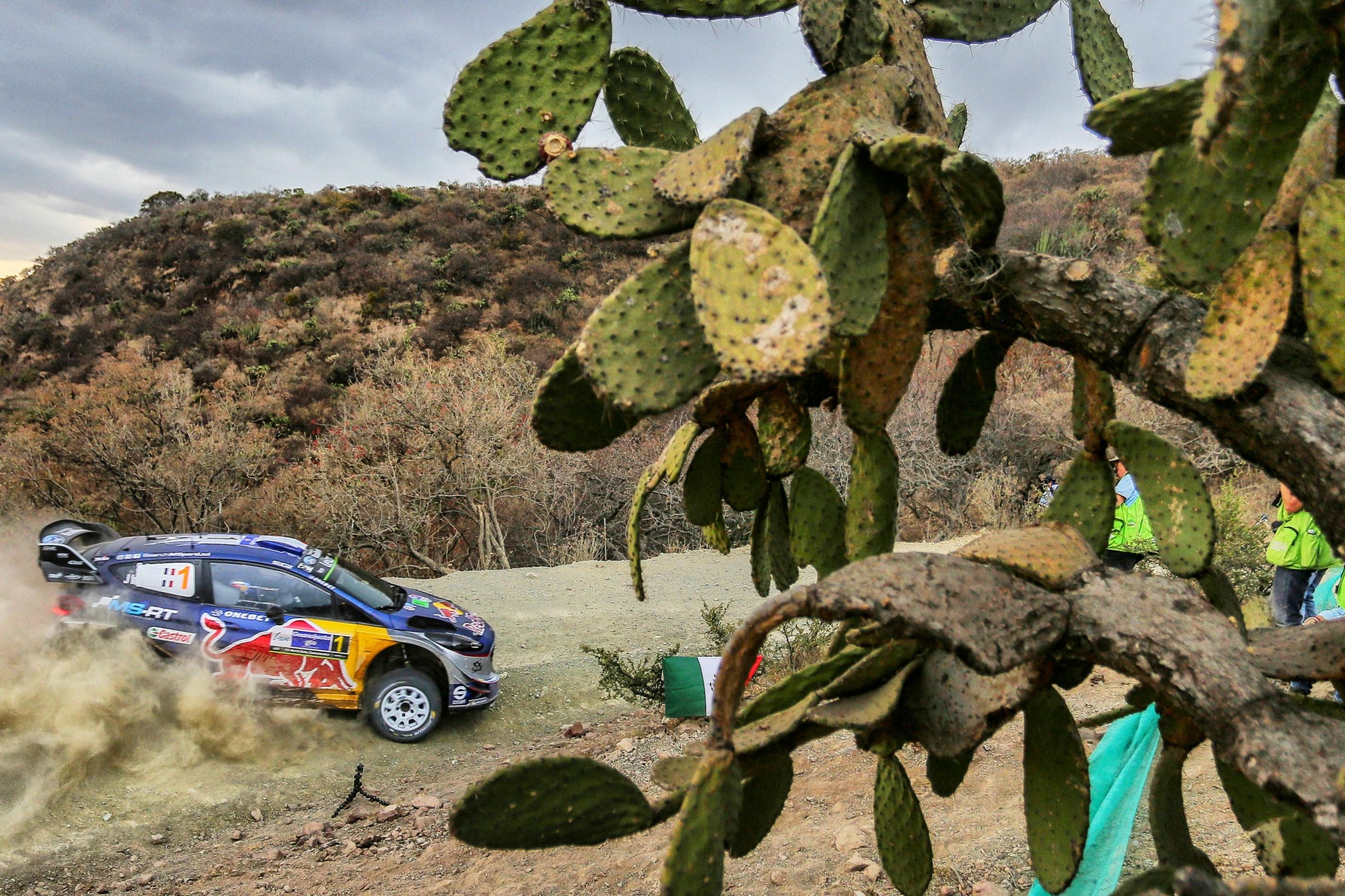 Sébastien Ogier (Ford M-Sport) au Rallye du Mexique 2017