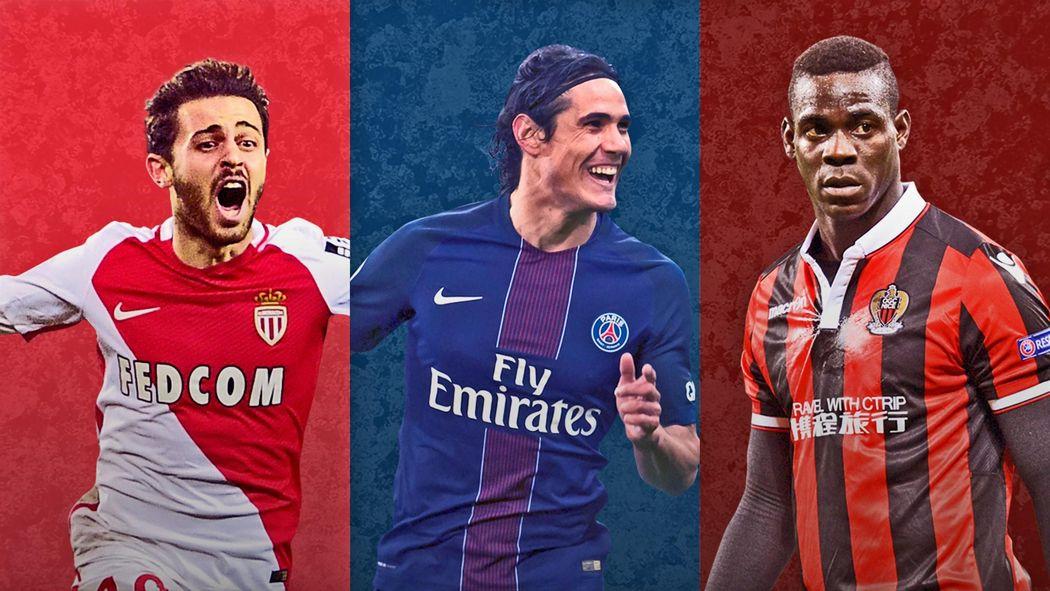 Calendrier Ligue 1 Nice.Infographie Le Calendrier De Monaco Le Psg Et Nice Avant