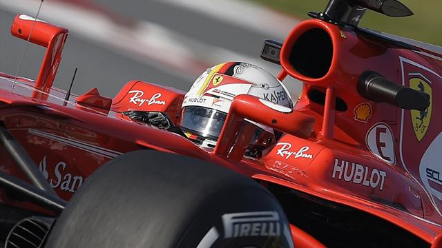 Vettel leads penultimate day of test