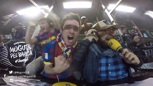 Ces commentateurs catalans ont littéralement explosé de joie après le dernier but du Barça