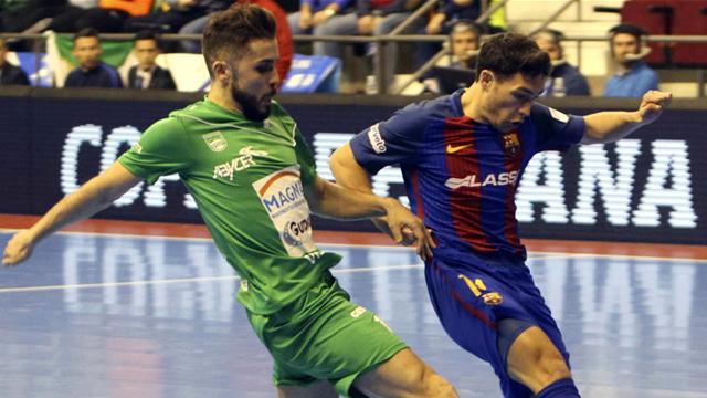 Vídeo: El Magna Gurpea da la sorpresa y elimina al Barcelona en los penaltis