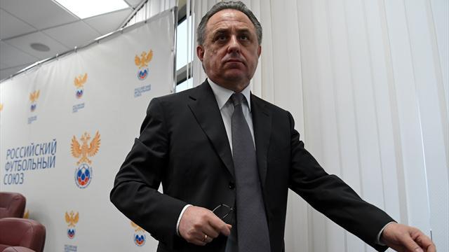 Мутко с губернатором Ростовской области посетили раздевалки «Ростова» и «МЮ» после матча