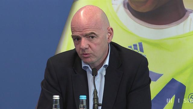 Комиссия поэтике ФИФА начала расследование против Инфантино