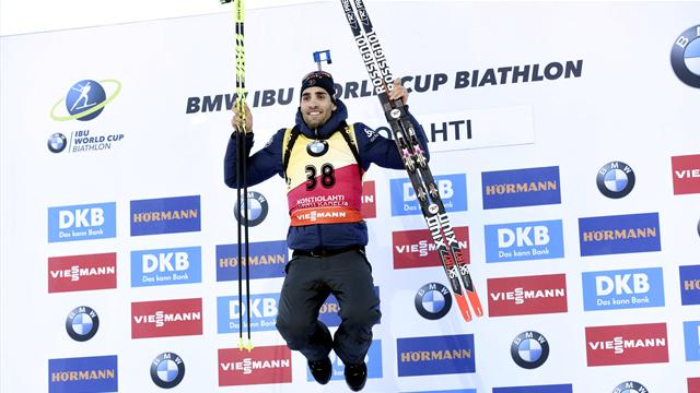 Lucky 13 for Fourcade in Finland