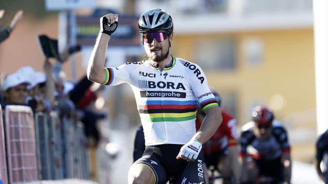 Thibaut Pinot 2ème de l'étape et.2ème au général — Tirreno-Adriatico