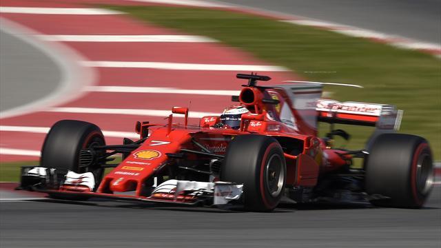 Räikkönen et Ferrari frappent fort !