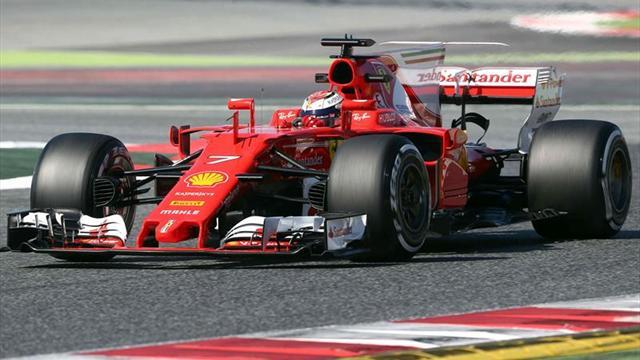 Raikkonen y Ferrari, los más rápidos de la pretemporada