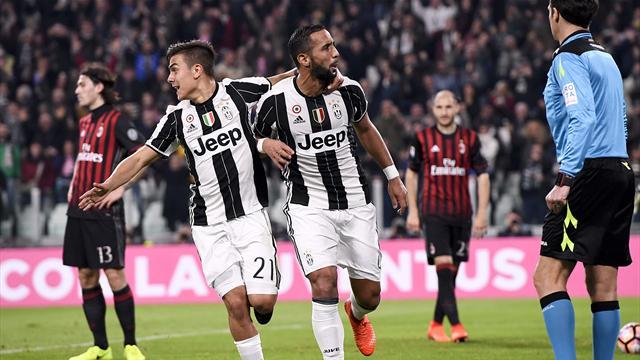 Juventus, Milan'ı duraklamada devirdi