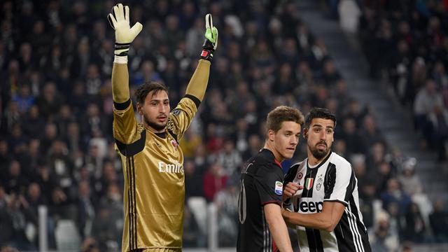 Furia Milan, Donnarumma bacia lo stemma rossonera e urla contro la Juventus