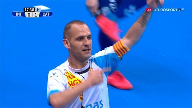 Copa de España, Movistar Inter-Catgas Energía: El campeón manda (6-5)