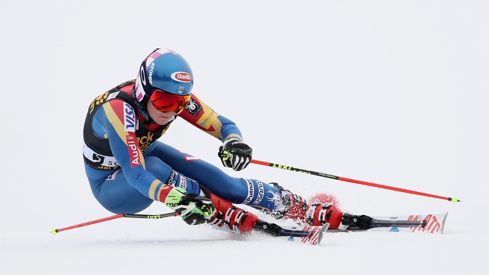 Mikaela Shiffrin wins on day one in Squaw Valley