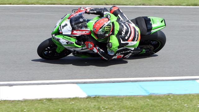 Jonathan Rea and Tom Sykes dominate Superpole session in Thailand