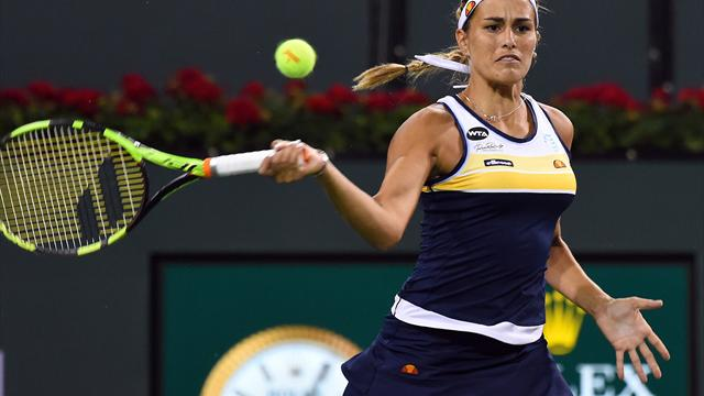 Karolina Pliskova progresses at Indian Wells after beating Monica Puig