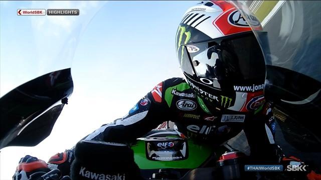 Superbike-WM Thailand: Rea gewinnt 1. Rennen (Highlights)
