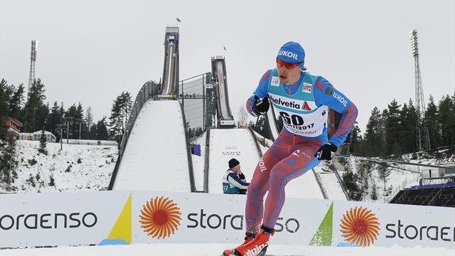 Бессмертных стал третьим в лыжном марафоне, Устюгов – восьмой