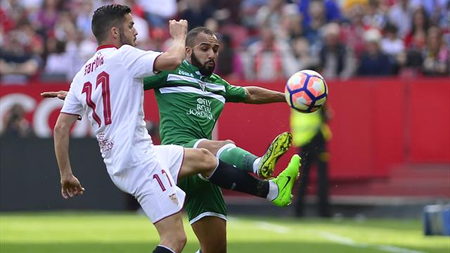 Séville perd du terrain contre Leganés