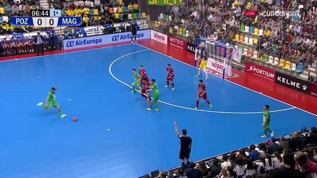 Copa de España, ElPozo Murcia-Magna Gurpea: Araça marca un golazo en la primera parte