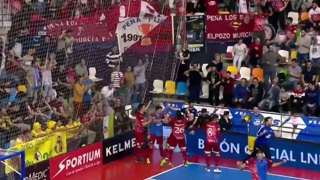 Copa de España, ElPozo Murcia-Magna Gurpea: Un gol de Cardinal en el último segundo vale una final