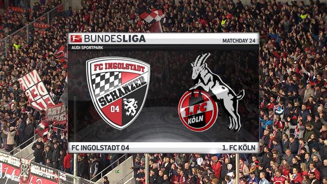 Høydepunkter: Ingolstadt v FC Köln